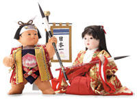 子護り人形筆
